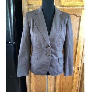 Banana Republic Brown Blazer Jacket Size 8